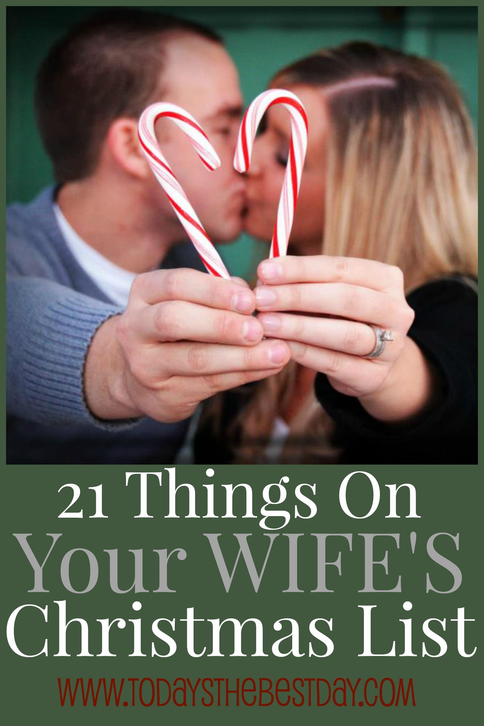 21 Things On Your Wife\'s Christmas List | Merry & Bright | Pinterest ...