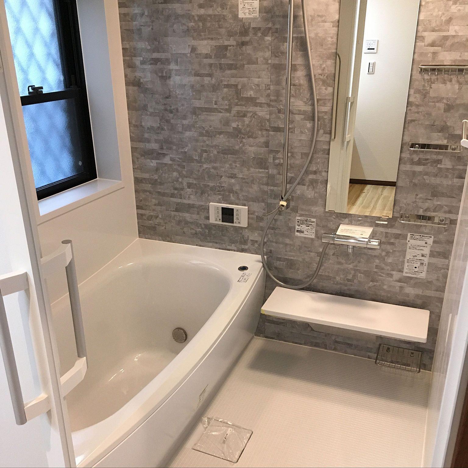 バス トイレ クレアライトグレー お風呂 Totoサザナ バスルーム など