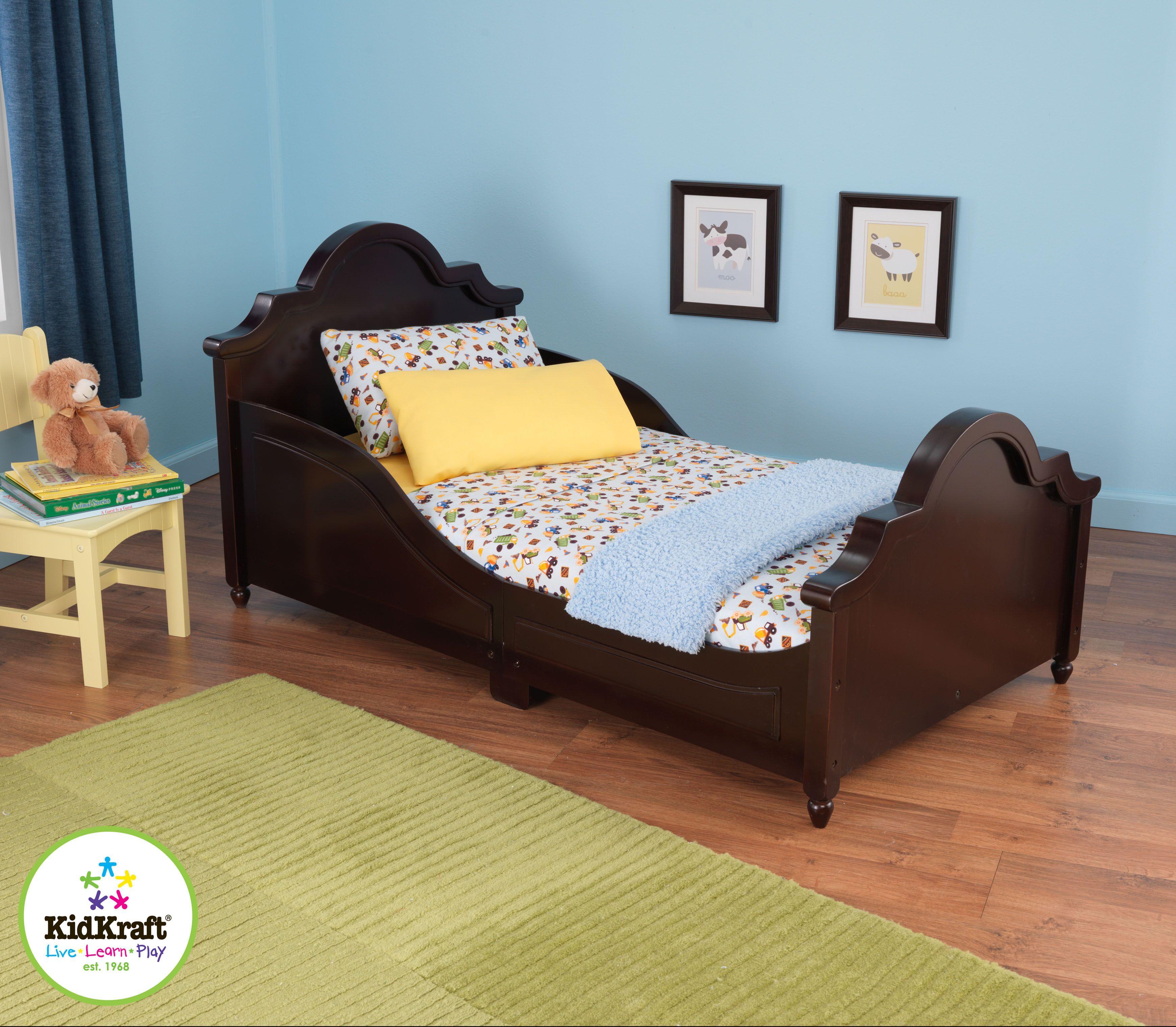 Raleigh Toddler Bed Espresso Childrens Furniture Toddler Bed Kid Beds