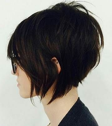 Resultat D Images Pour Long Front Short Back Edgy Haircut Hair Styles Short Hair Styles Short Shag Hairstyles