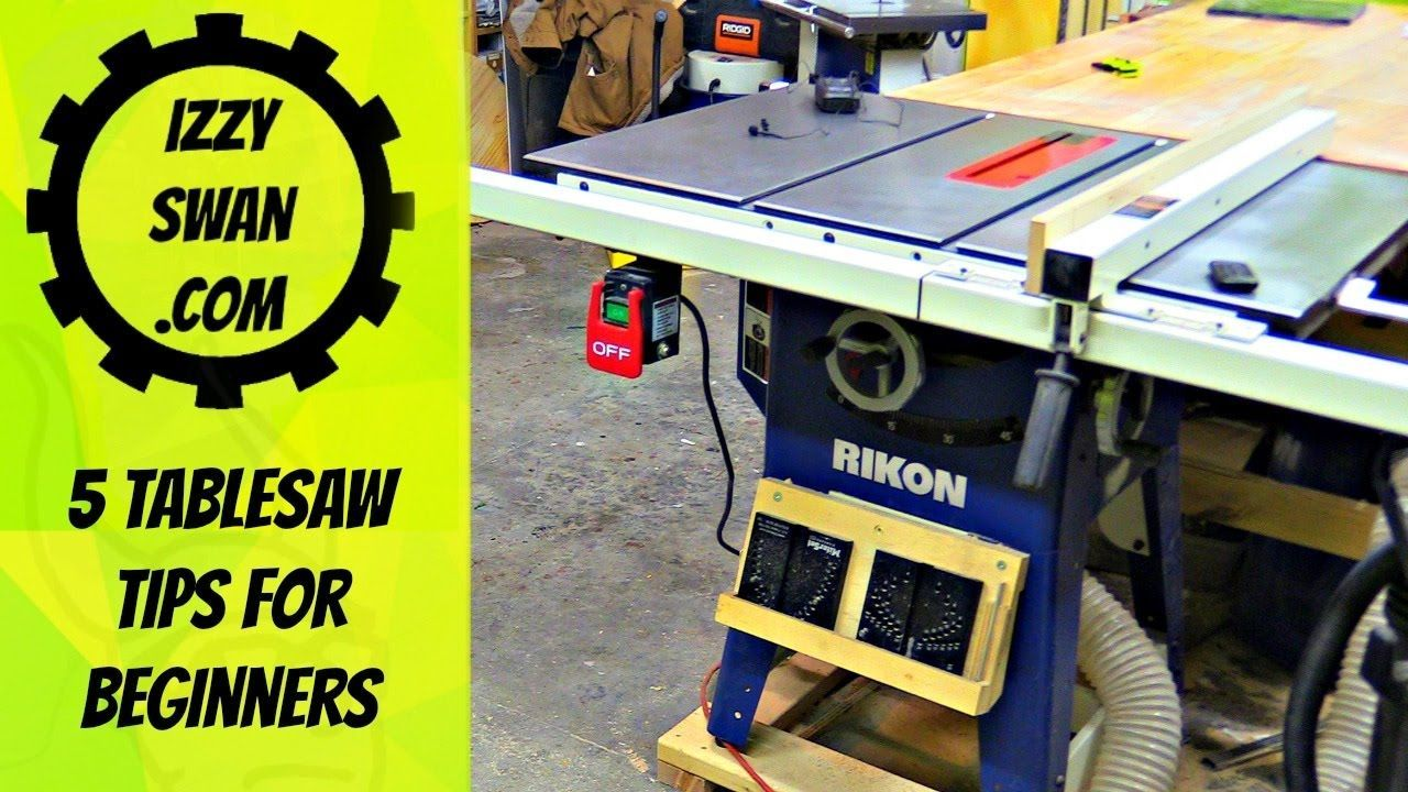 5 Table Saw Tips For Beginners Craftsman Table Saw Table Saw Table Saw Jigs