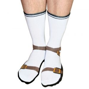 Don T Bother Putting On Sandals And Socks Put On Sock Sandals