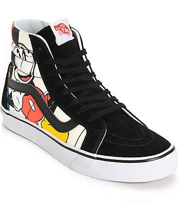 Disney x Vans Sk8-Hi Mickey   Friends Skate Shoes (Mens)  4601d6ea882