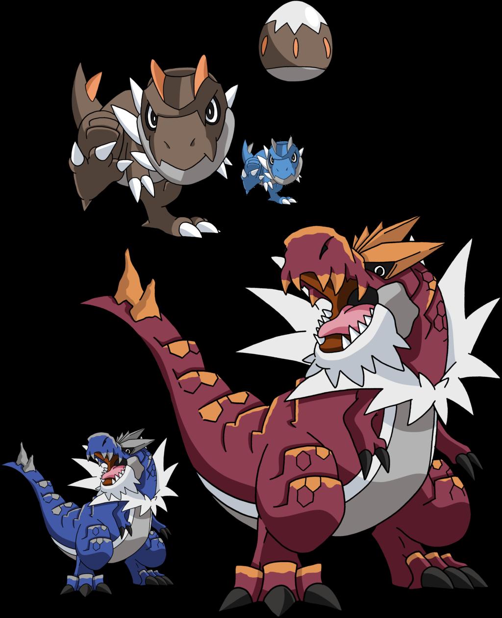 696 and 697 - Tyrunt Evolutionary Family by Tails19950 on deviantART |  Dragon type pokemon, Pokemon tyrantrum, Pokemon fusion art