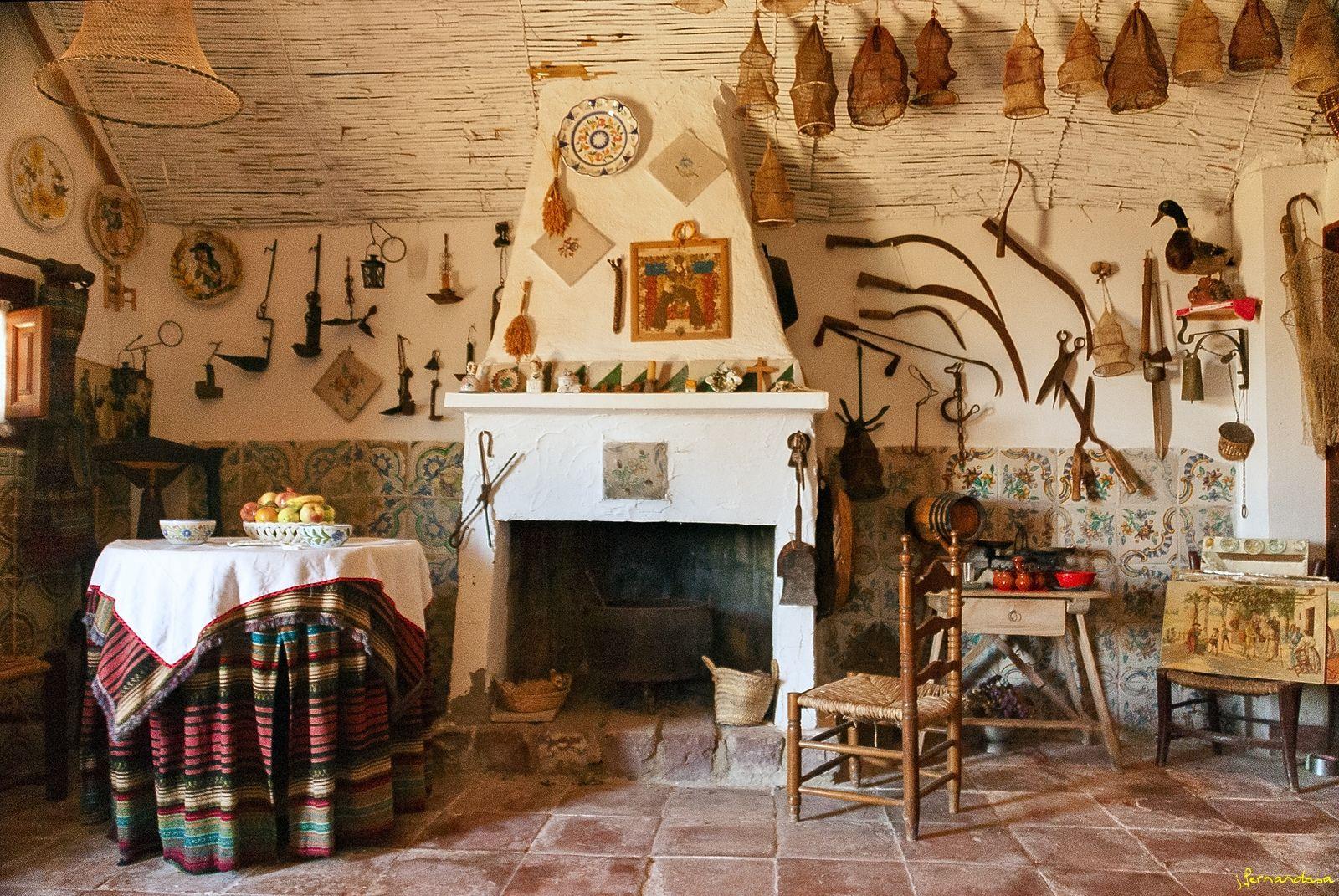 Interior Barraca Valenciana Decoracion De La Casa Decoracion De