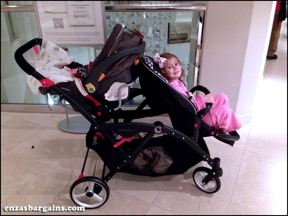 Mom_Mart reviewed the Contours Options Elite Tandem Stroller in ...