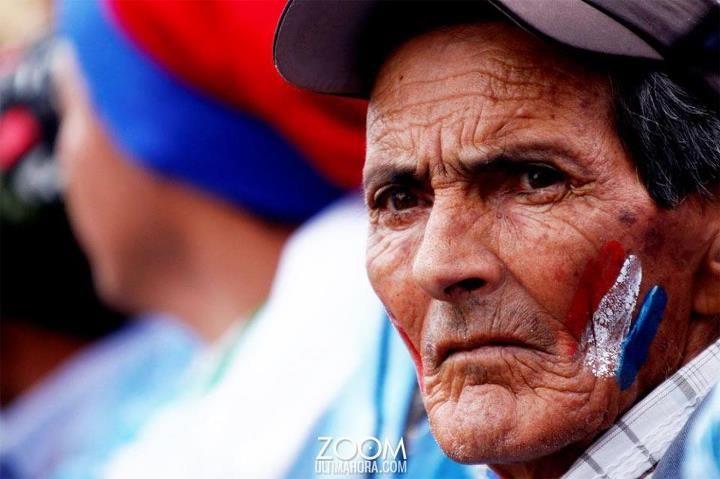 El rostro de la indignación paraguaya