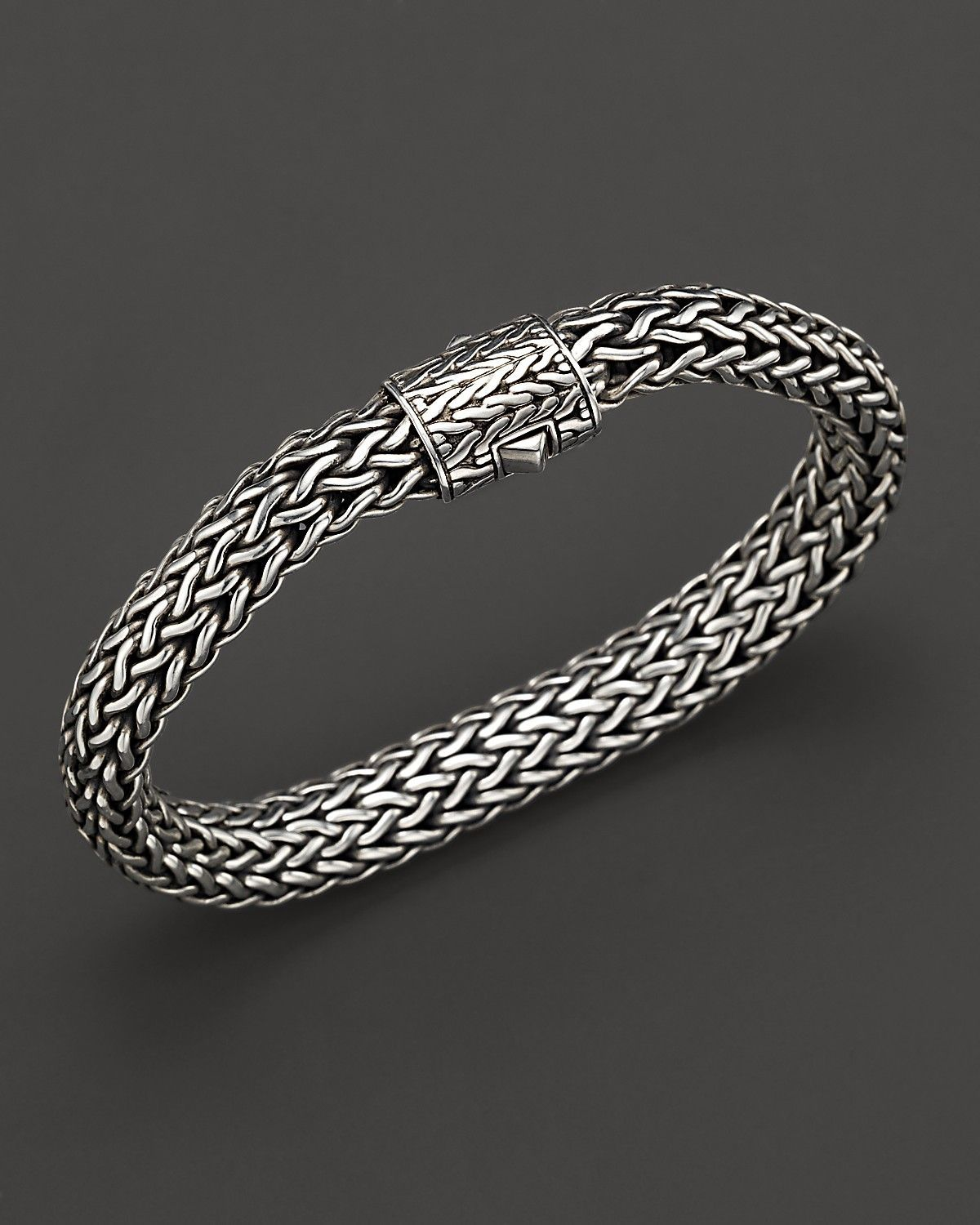 eus stackable silver jewelry bangles bamboo style hinged large bracelets chic bling bracelet sterling bangle