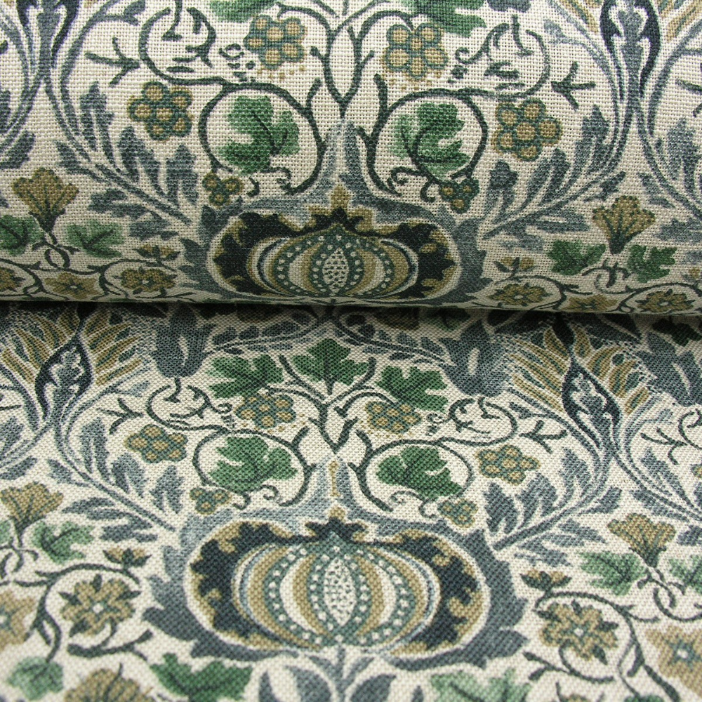 Little Chintz Upholstery Fabric By Morris And Co William Morris Edwardian House Fabric