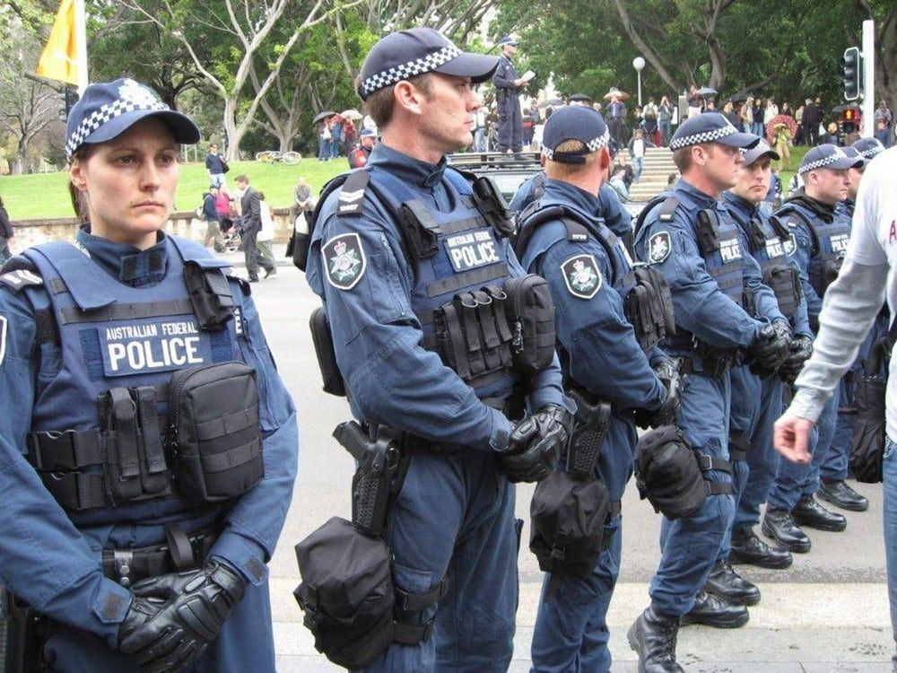 australian police uniform