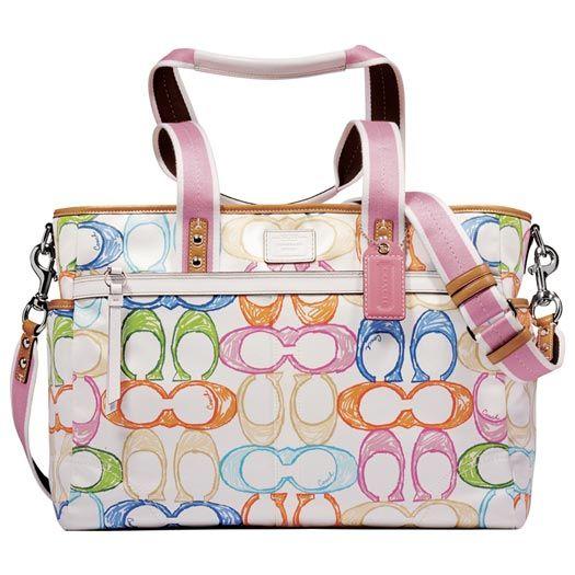 Coach-Diaper-Bags