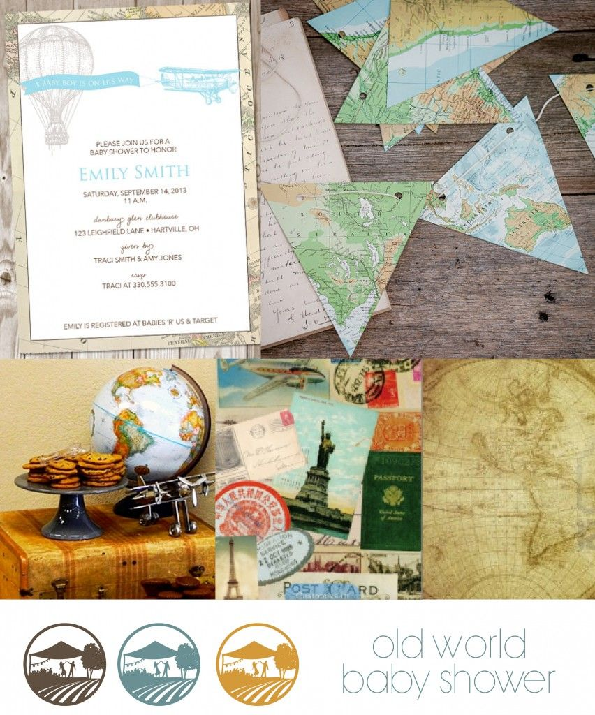 Southern Fete :: Welcome to the World Baby Shower Inspiration | The ...