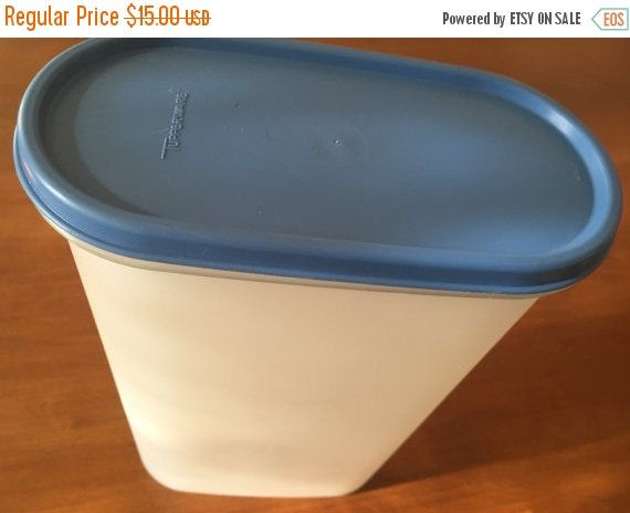 Sale Tupperware Modular Mate 12 1 4 Cup Dry Storage Cereal Pet Food Tight Lid Not Used Tupperware Food Storage Etsy