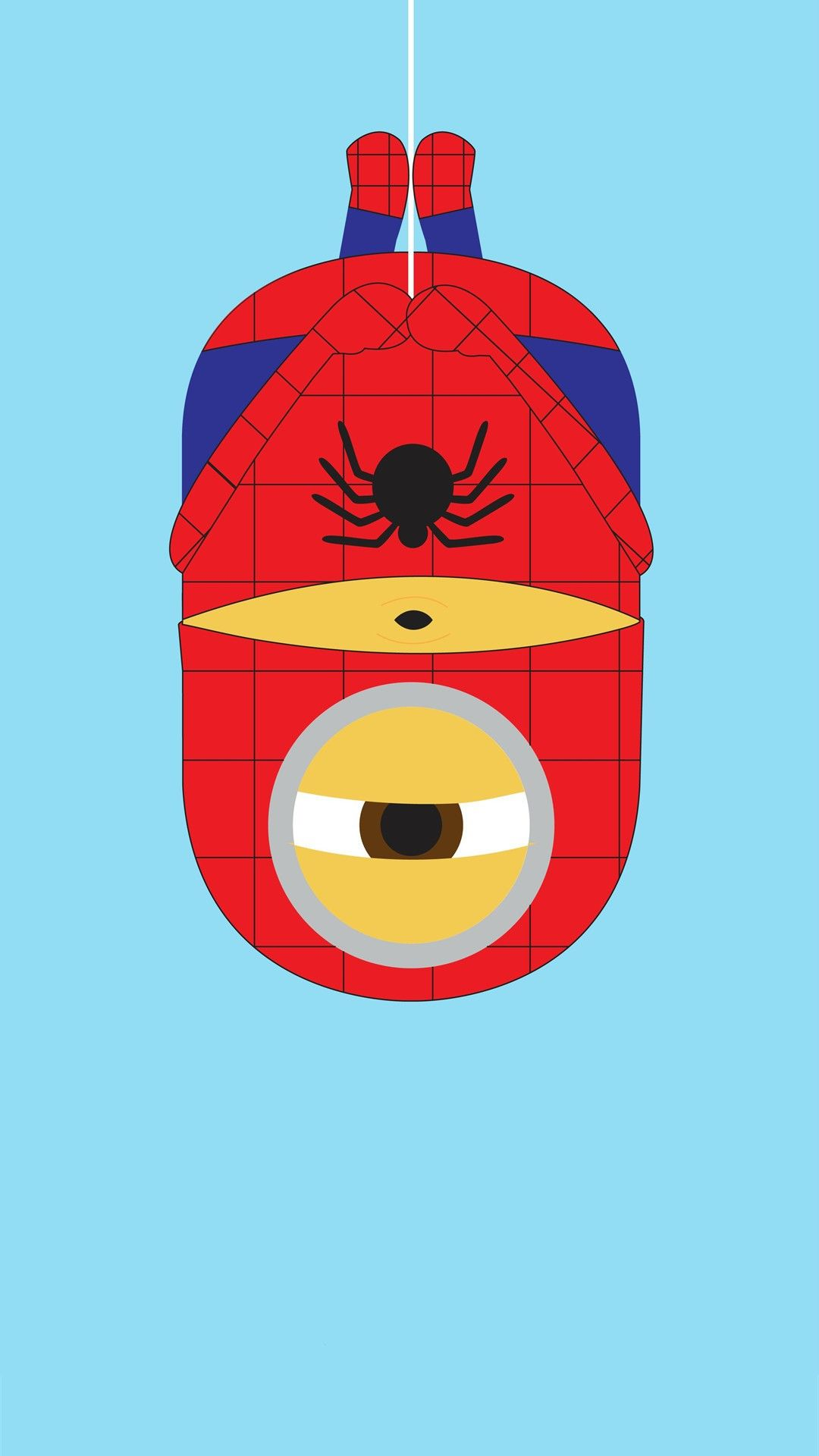 2014 spider-man minion iphone 6 plus wallpaper from despicable me