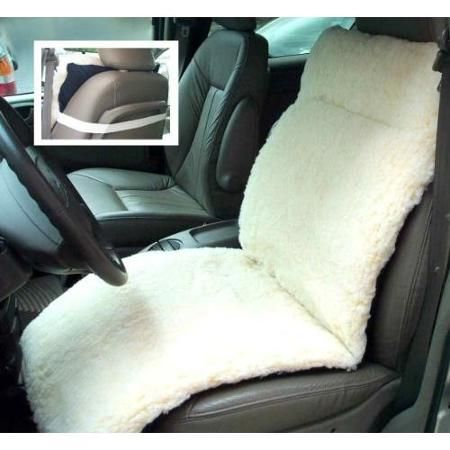 Full Auto Seat Cushion Navy Fabric Fleece Reversible Car Seat Cushion Navy Fabric Car Seats