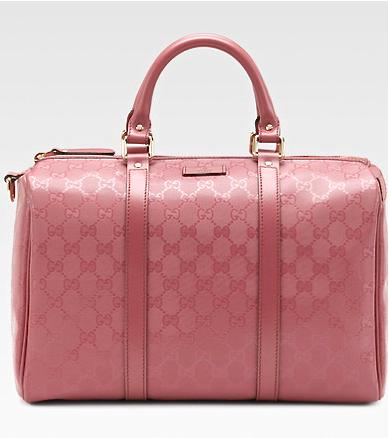Gucci Pink Joy Boston Bag Gucci Handbags Leather Hobo Bag Burberry Handbags
