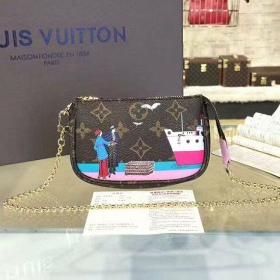 5dd11406656f Louis Vuitton M62141 Mini Pochette Accessoires Monogram Canvas