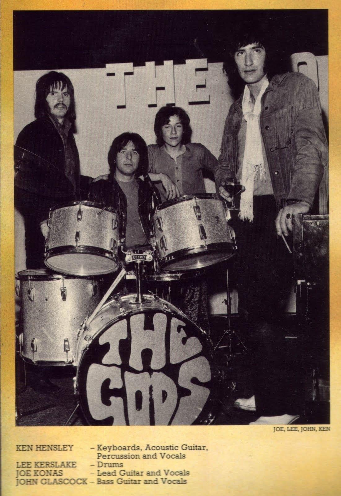 Ken Hensley And Lee Kerslake Early Years Music God Cool Bands