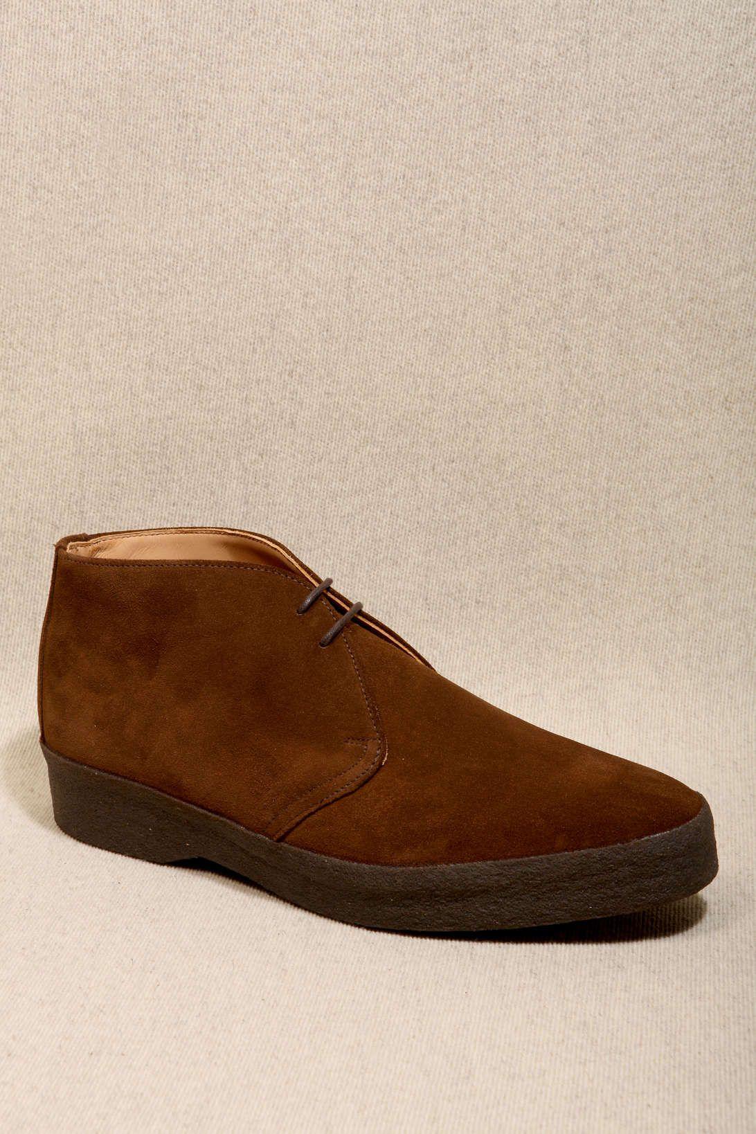 Steve mcqueen desert boots