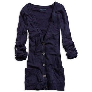 AE Women's Boyfriend Cardigan (Tower Navy) | My Style | Pinterest ...