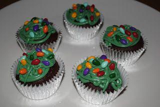 Juli Jacklin's Cupcakes Tangled Christmas lights