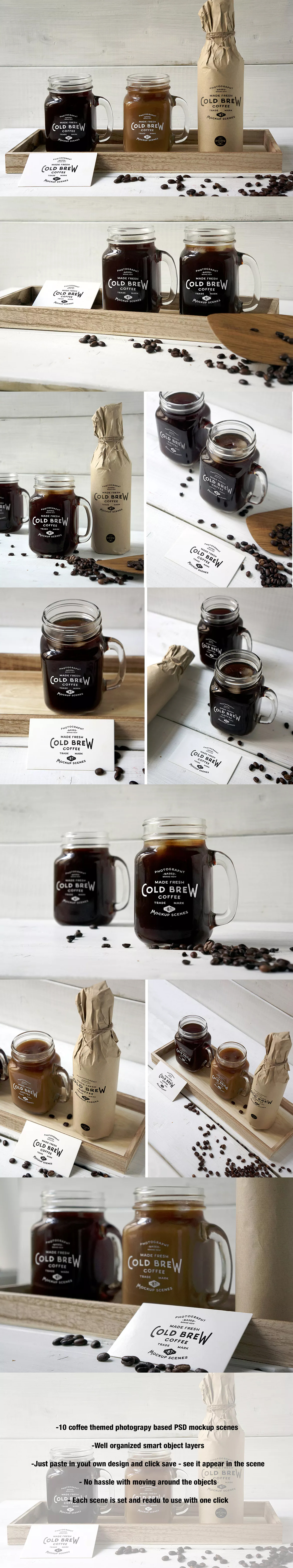 Cold Brew Coffee Mockup by amris on Cold brew, Brewing