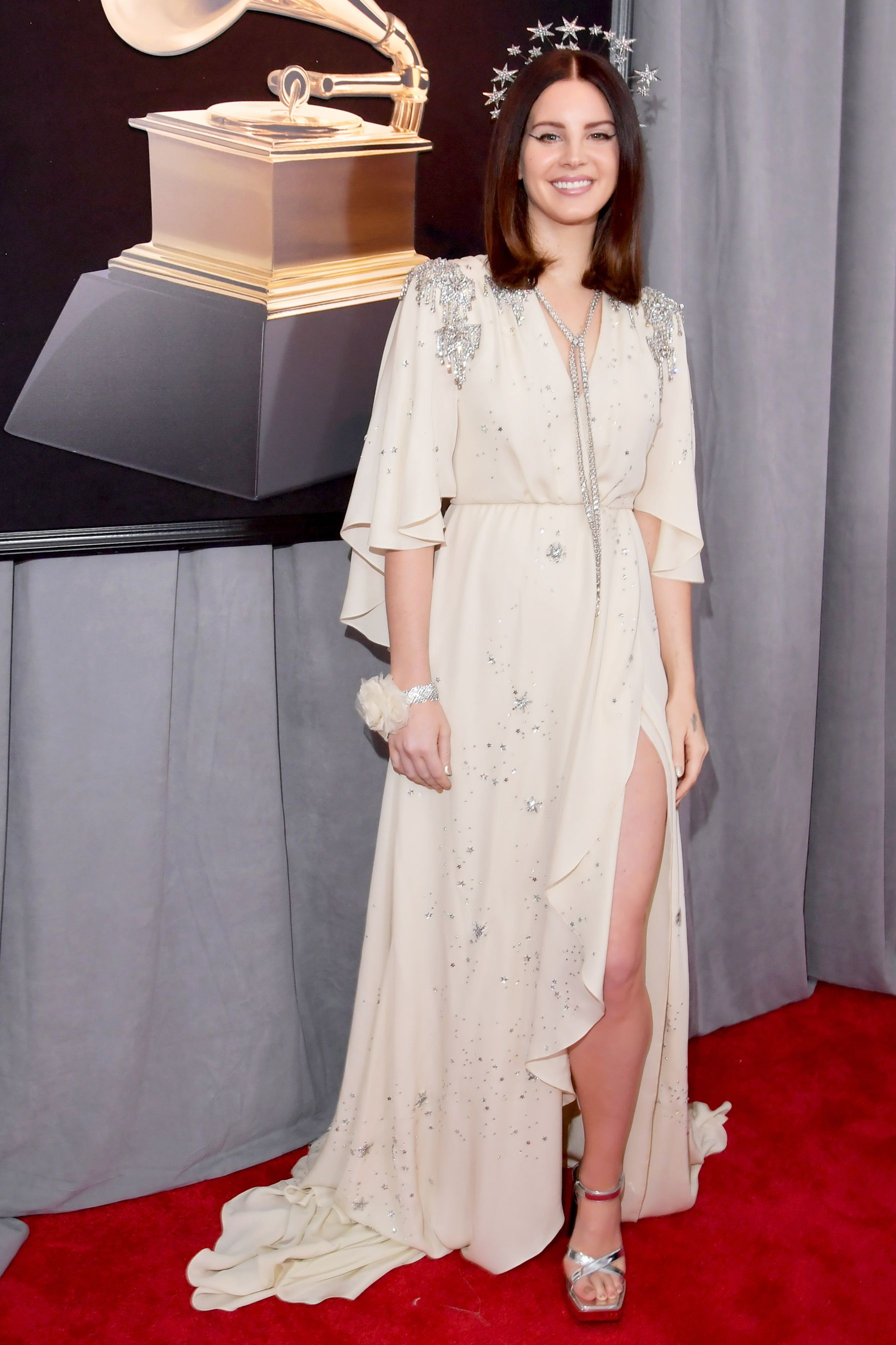 ae189ed6903 See All the 2018 Grammy Awards Red Carpet Arrivals - Lana Del Rey from  InStyle.com