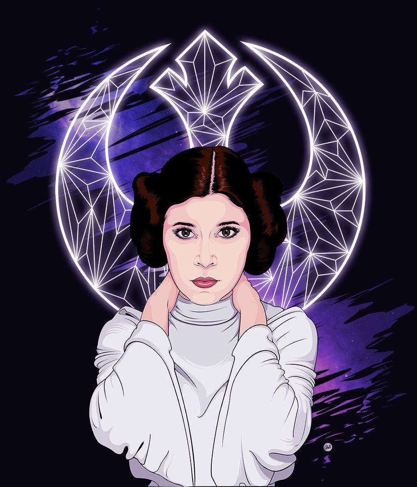 Princess Leia Organa By Mamba26 Star Wars Art Star Wars Wallpaper Star Wars Images