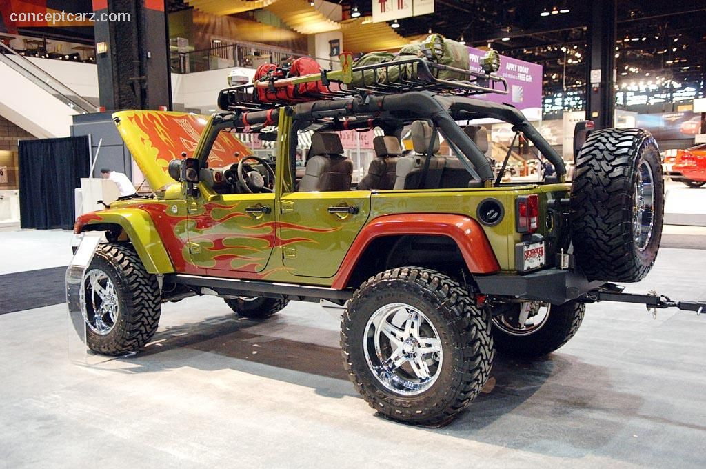 I'm a huge fan of this kind of Jeep modification. Maybe
