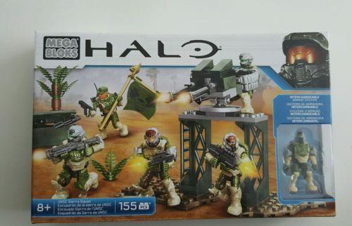 Mega Bloks Halo Unsc Sierra Squad Building Kit 155 Pcs New Mega Bloks Mega Blocks Squad