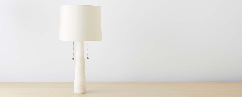 mid-century marble table lamp | NYC Apartment | Pinterest | Mid ...