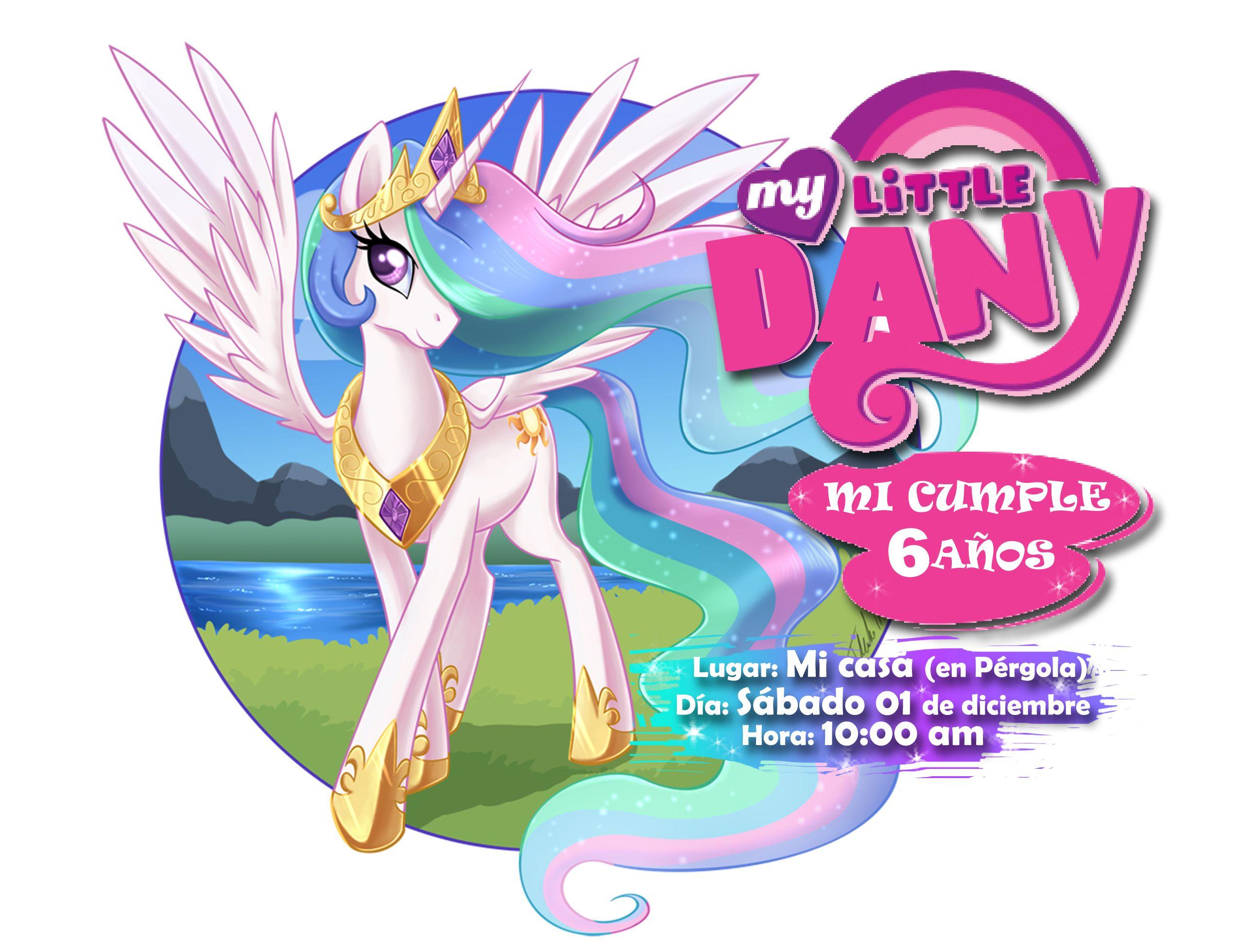 Invitación Pony