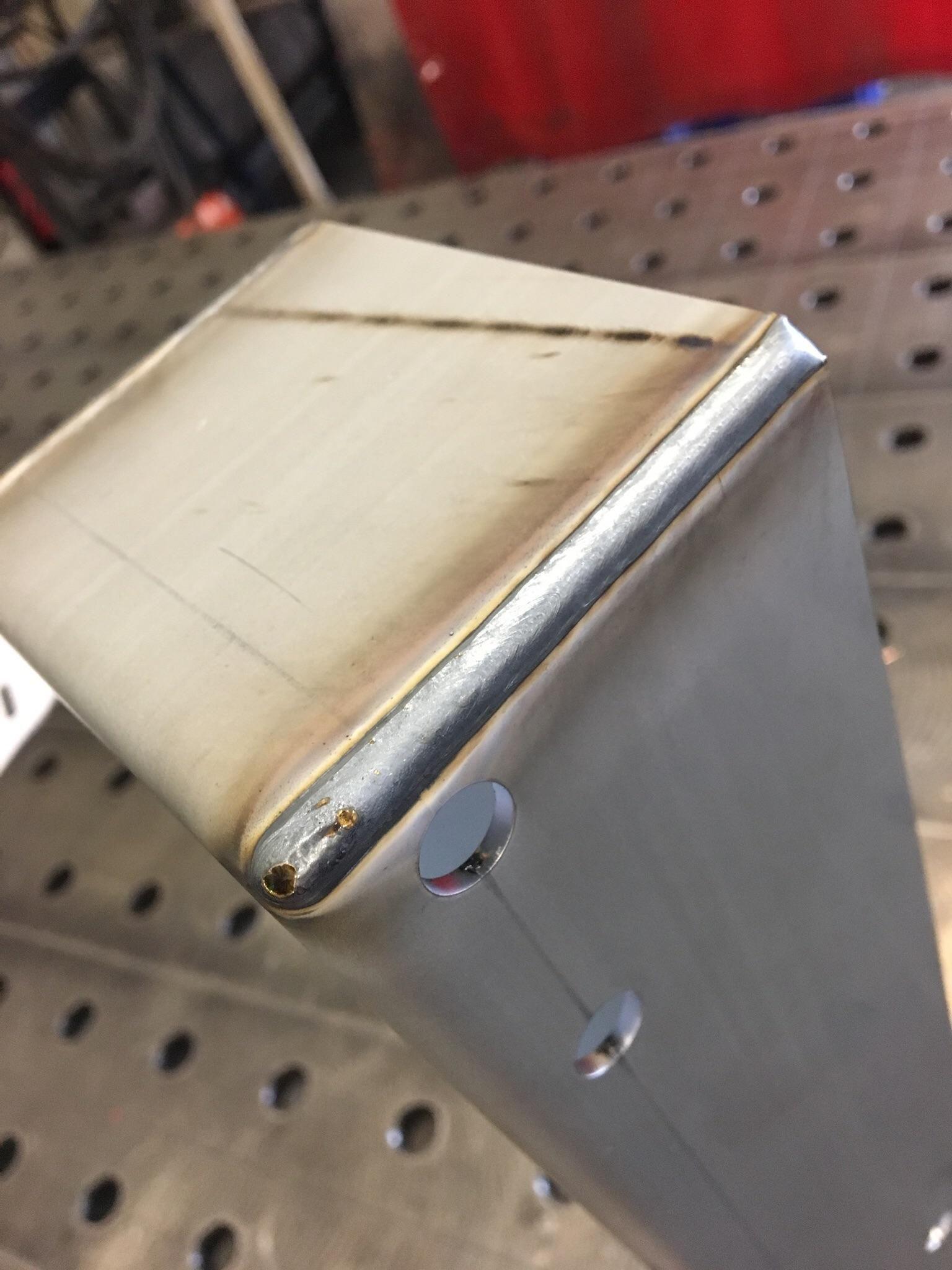 The Prettiest Mig Weld I Ever Managed To Do On Galvanized Steel Metal Welding Metal Shop Building Welding Crafts