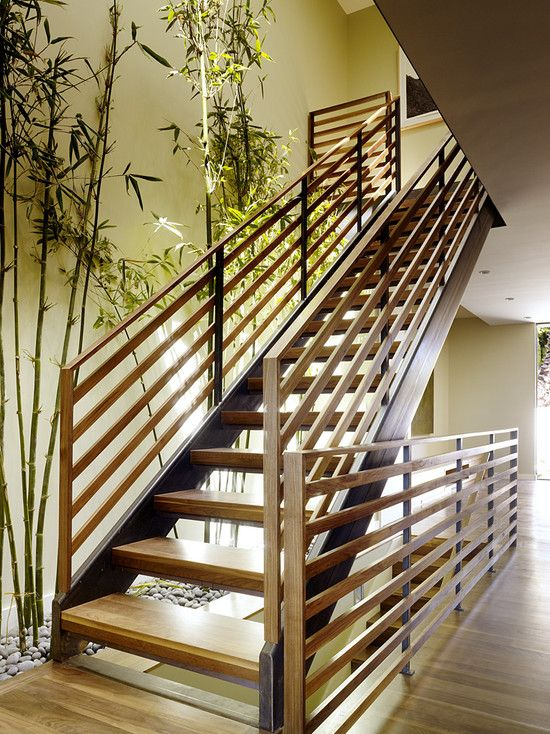 Bamboo Stairs Design, Pictures, Remodel, Decor And Ideas