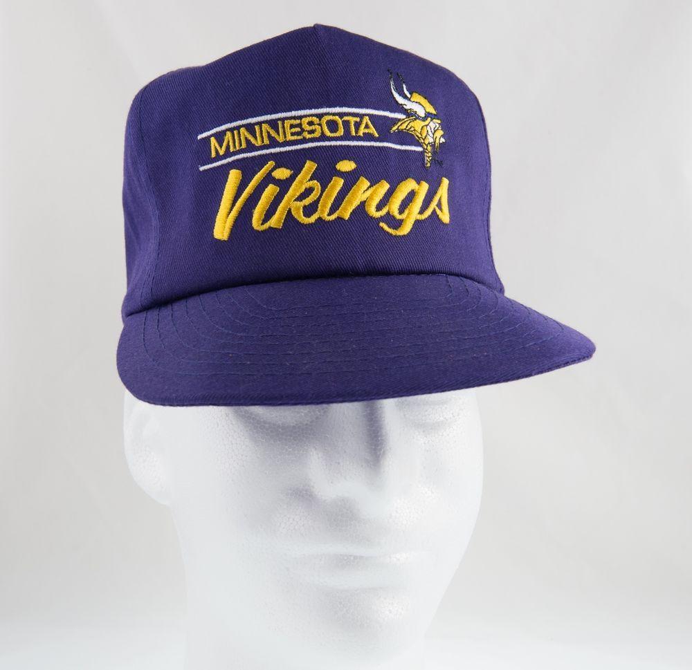 91e799af7d53d2 ... shopping vintage 80s 90s minnesota vikings nfl baseball style snapback  hat annco annco minnesotavikings b2bbb 3b09a
