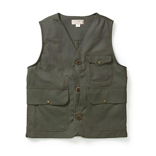 Light Work Vest - Antique Tin Cloth