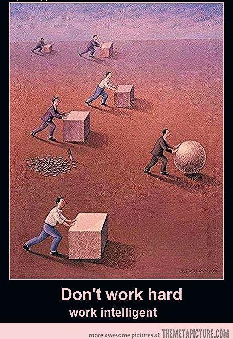 Photo of Work intelligent…