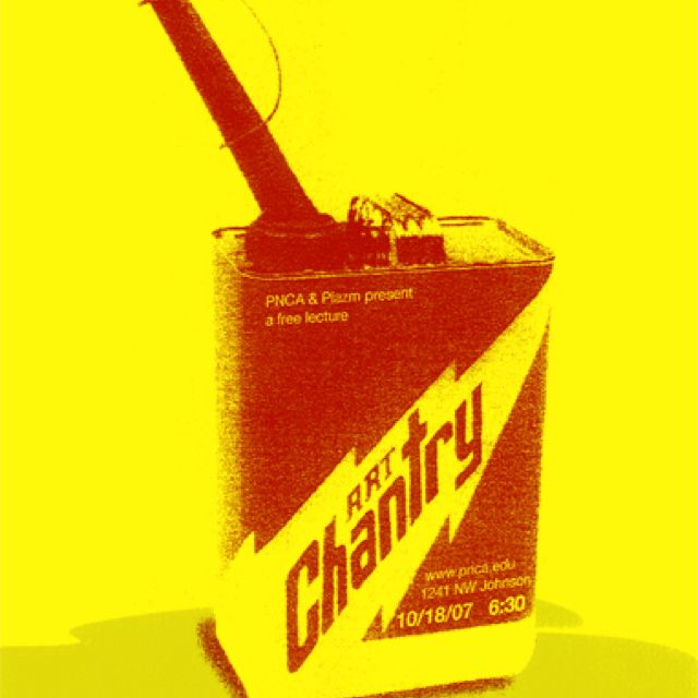 Art Chantry Gig posters, Red yellow, Art