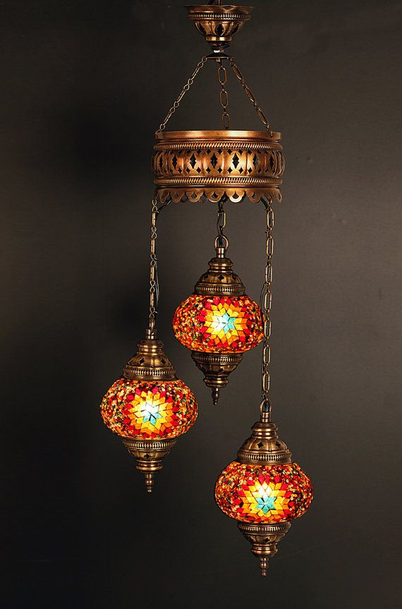 Arabian Mosaic Lamps Moroccan Lantern Chandelier Turkish Light Hanging Lamp Mosaic Lighting Mosaic Lamp Turkish Mosaic Lamp Turkish Lamps