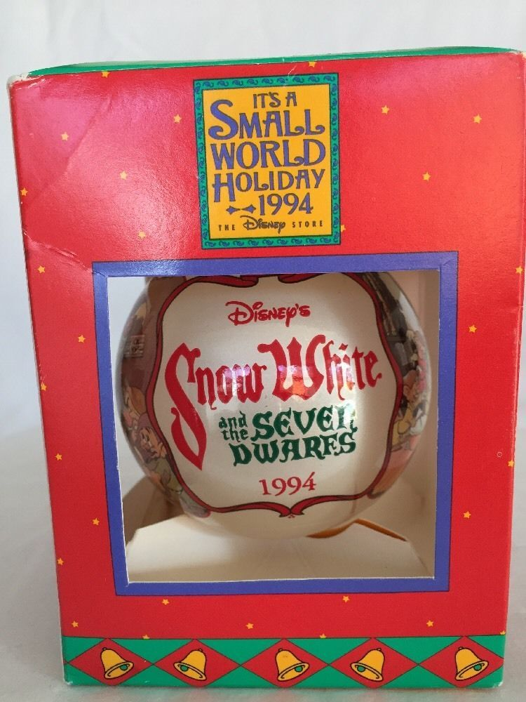 Disney Christmas Ornament - Snow White and the Seven Dwarfs 1994 ...