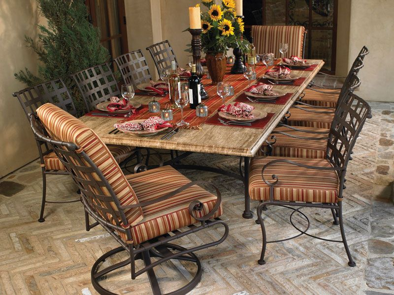Houston Home and Patio | Iron Outdoor Furniture | Wrought ...