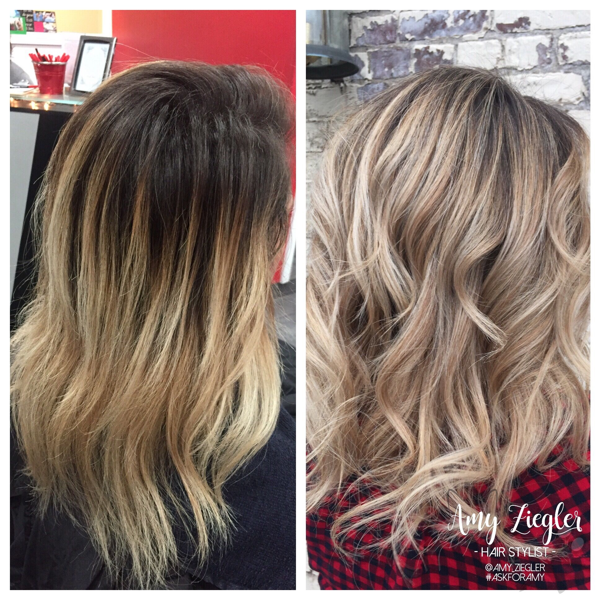Before And After Blonde Babylights Transformation By Amy Ziegler Askforamy Versatilestrands Babylights Blonde Hair Styles Long Hair Styles
