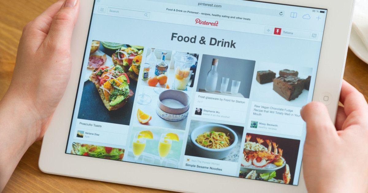 """Neues von Pinterest: Das Netzwerk verzeichnet erstmals mehr Nutzer außerhalb der USAals im Heimatmarkt. Und: Das Portal launcht seine neue Funktion """"Featured Collections""""."""