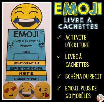 Activite D Ecriture Livre A Cachettes Emoji Activites