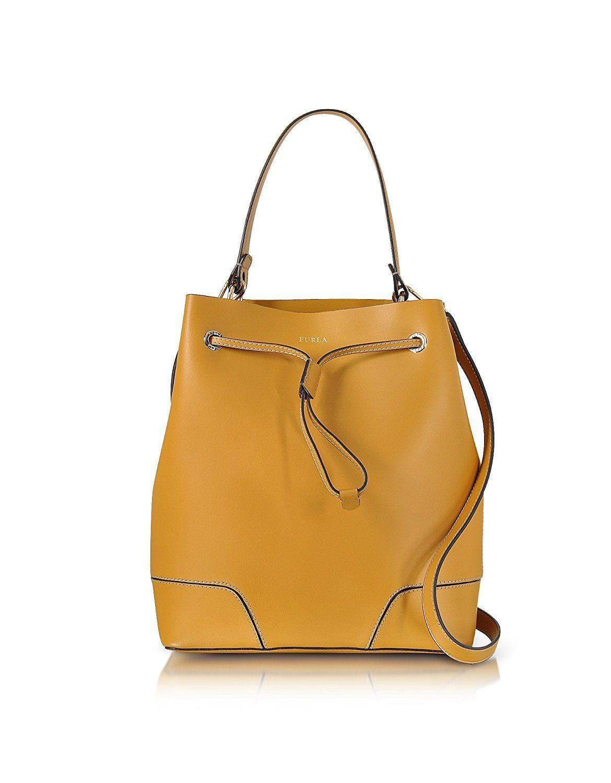 Shoulder Bag for Women, Moonstone, Leather, 2017, one size Furla