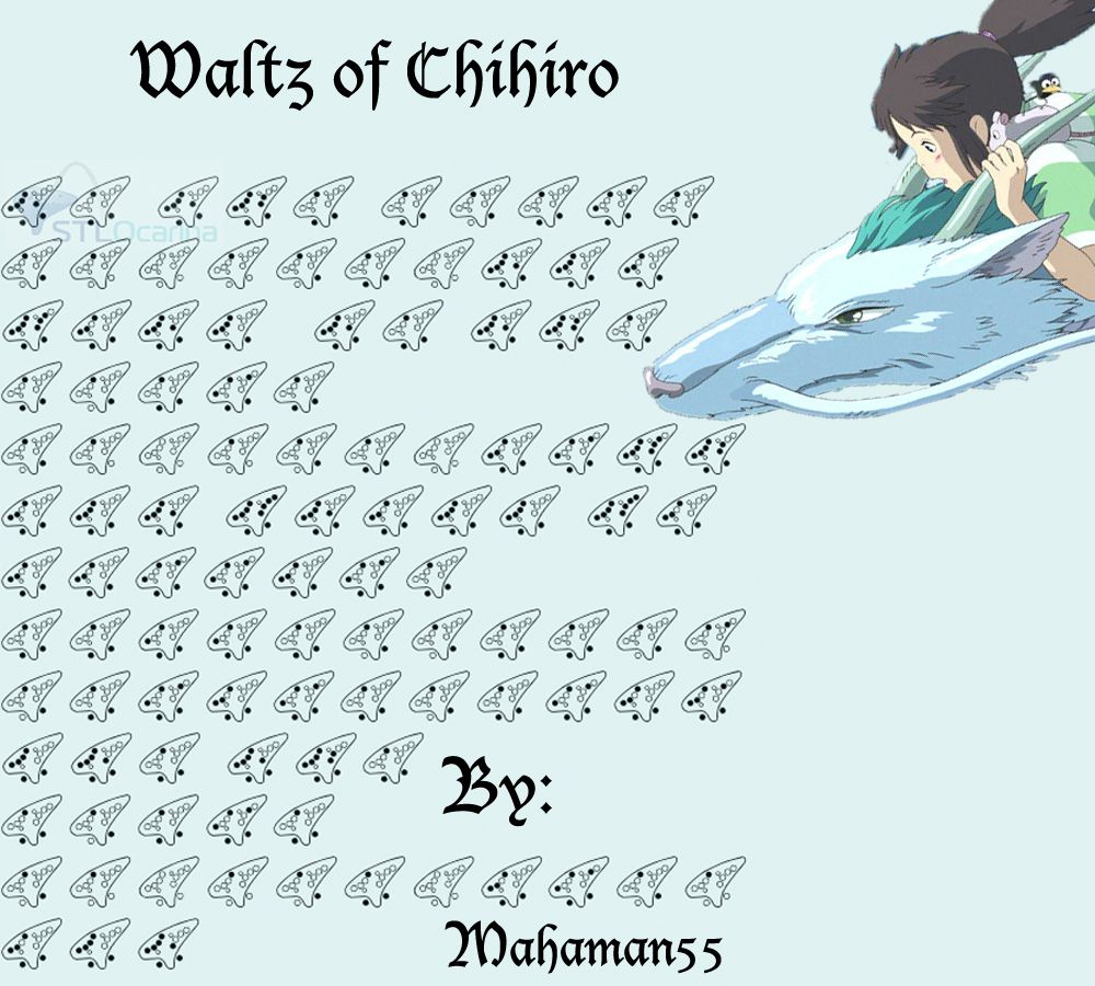 Waltz Of Chihiro Piano Sheet Music Best Music Sheet