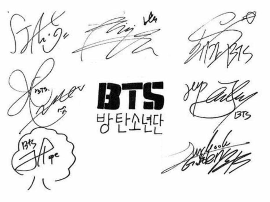 Pin Oleh Hye Rim Song Di Bts Stiker Kpop Tanda