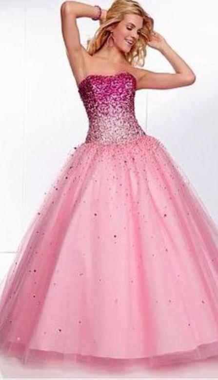 Vestido rosa longo   Happy 15 years!   Pinterest   Prom, Homecoming ...