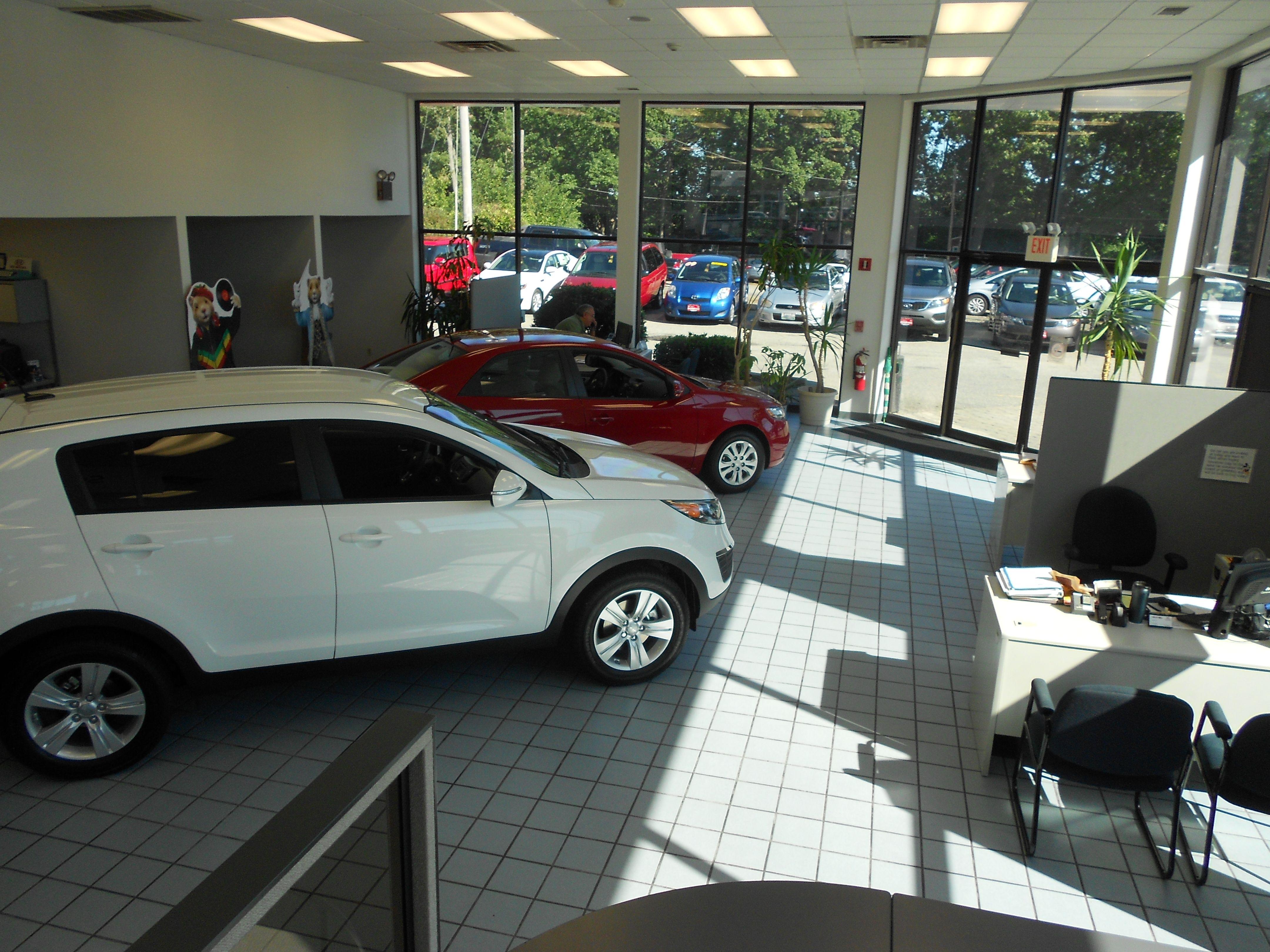 Dodge Chrysler Jeep Ram Waiting Room