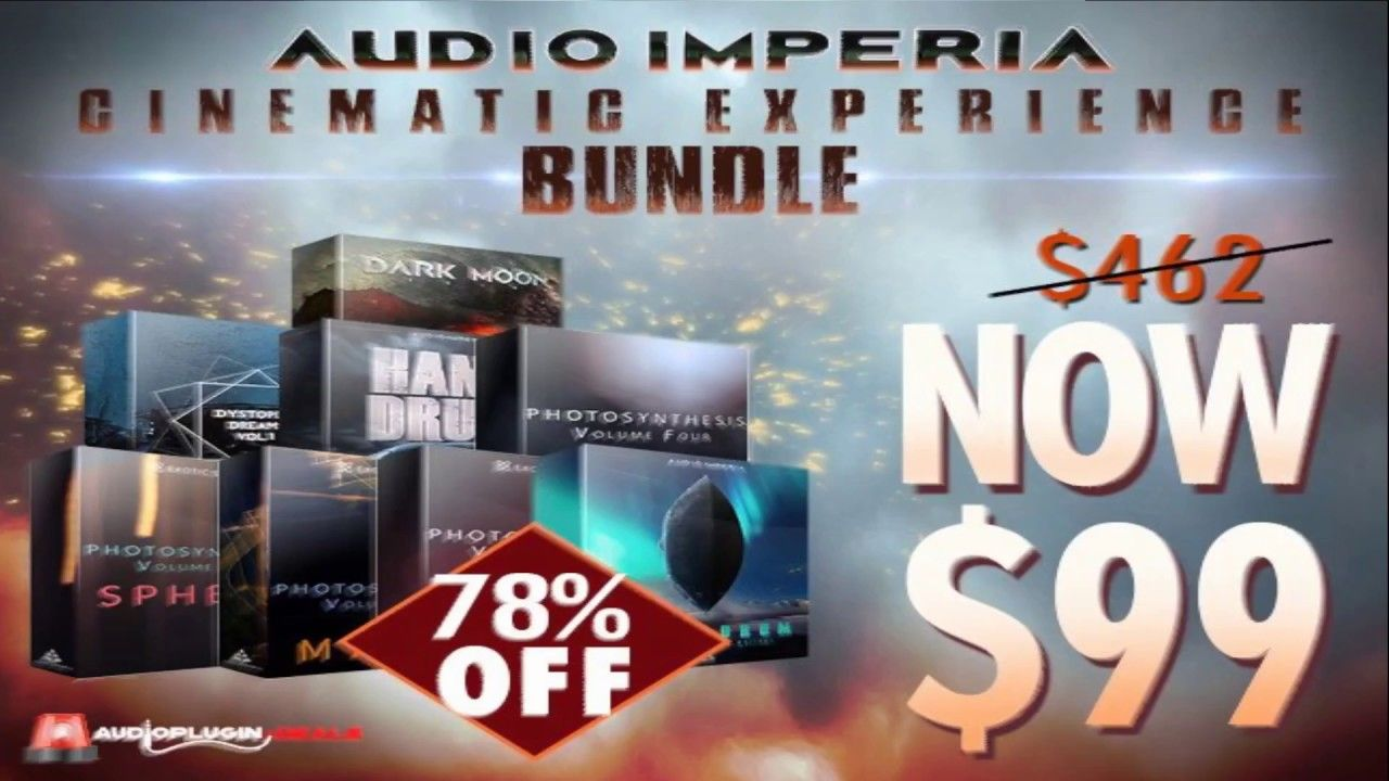 Audio Imperia Cinematic Experience Bundle EXTENDED